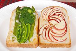 お楽しみトースト2種