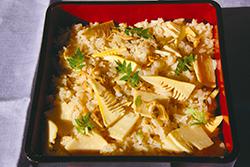 タケノコ&アサリご飯