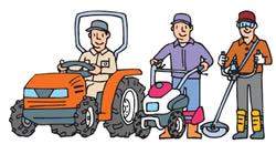 農機具から自動車まで、JA鈴鹿整備センターにお任せください
