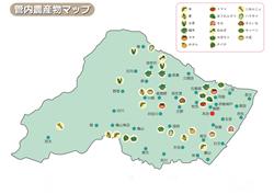JA鈴鹿農作物マップ