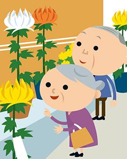 菊花展を菊作りの入り口に