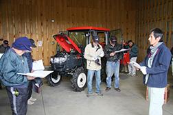 農機具展示会