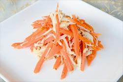 ニンジンとエノキタケのサラダ