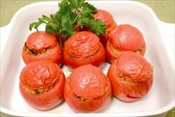 トマトのライス詰め